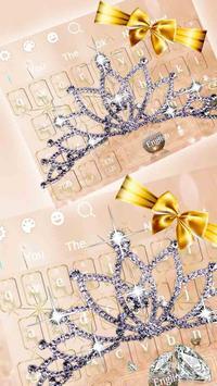 Glitter Diamond Jewelry Keyboard poster