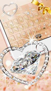Glitter Diamond Jewelry Keyboard screenshot 2