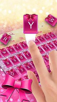 Pink Glitter Bowknot screenshot 2