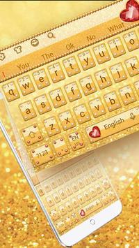Glitter Diamond Keyboard poster