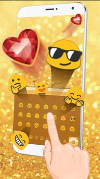 Glitter Diamond Keyboard apk screenshot
