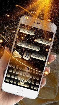 Glittering Rose Keyboard screenshot 2