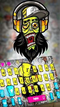 Graffiti Art Keyboard poster