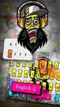 Graffiti Art Keyboard screenshot 1