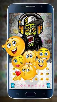 Graffiti Art Keyboard apk screenshot