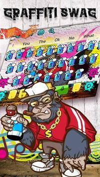 Graffiti Swag Keyboard Theme apk screenshot