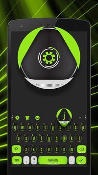green mechanical eye keyboard magic ball apk screenshot