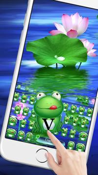 Green HD frog keyboard screenshot 1