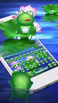 Green HD frog keyboard screenshot 2