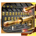 Gun Shooting Keyboard Theme