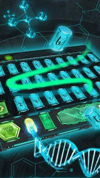 dna biotech keyboard life apk screenshot