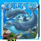 Dolphin Sea Keyboard Theme icon
