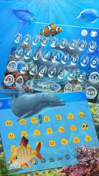 Dolphin Sea Keyboard Theme apk screenshot