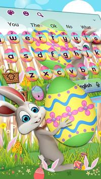 Easter Bunny Keyboard Theme poster