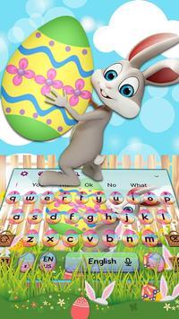 Easter Bunny Keyboard Theme screenshot 1