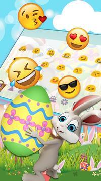 Easter Bunny Keyboard Theme screenshot 2