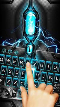Eletric Light Keyboard apk screenshot