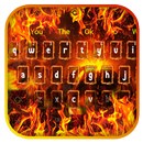 3D Flaming Fire Keyboard Theme APK