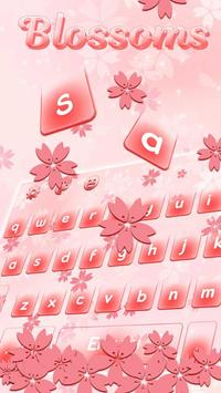 Blossoms Keyboard Theme poster