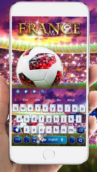 France Football Keyboard poster