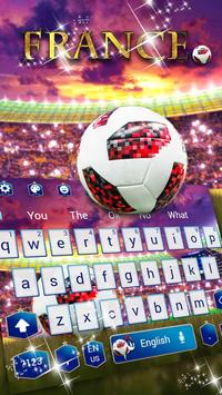 France Football Keyboard screenshot 1
