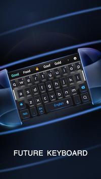 dark future technology keyboard machine poster