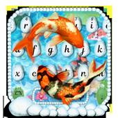 Koi  Pond Keyboard Theme icon
