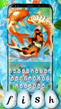 Koi  Pond Keyboard Theme poster