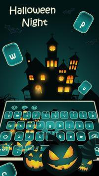 Halloween Night Keyboard 2017 poster