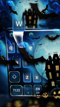 Halloween Pumpkin Keyboard Theme poster