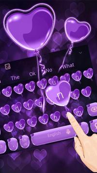 Purple Heart Balloon poster