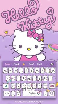 Hello Kitty Keyboard Theme ポスター