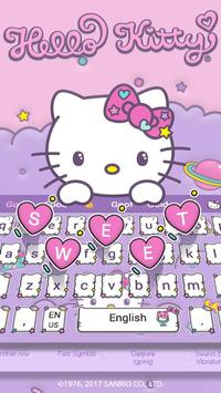 Hello Kitty Keyboard Theme スクリーンショット 2