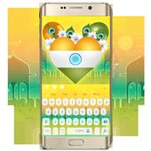 Indian castle keyboard icon