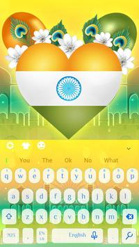 Indian castle keyboard poster