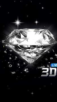 3D Live Diamond Keyboard poster