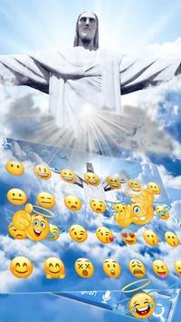 3D Live Jesus Christ Keyboard screenshot 2