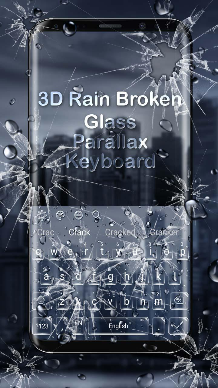 Broken Glass Roblox Rain Broken Glass Parallax Keyboard For Android Apk Download
