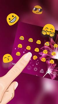 Pink Flower Lotus Keyboard For Android Apk Download