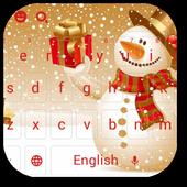 Christmas Snowman Keyboard Theme icon