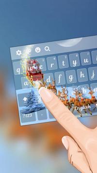 Christmas Eve Keyboard Theme screenshot 1