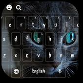 Cheshire Dark Kitty Devil Keyboard Theme icon