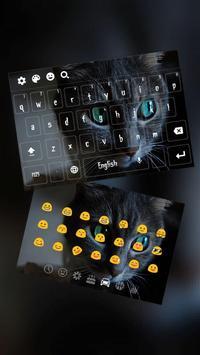 Cheshire Dark Kitty Devil Keyboard Theme poster