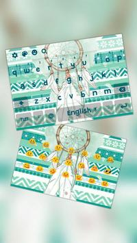 Dream Catcher Geometrical Pattern Keyboard Theme poster