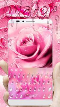 Pink Rose Water Drops screenshot 2