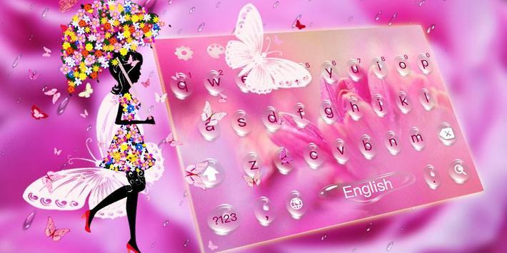 Pink Rose Water Drops screenshot 4