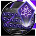 Tech Keyboard - Purple Black Fusion