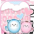 Cat Keyboard Pink Kitty Theme