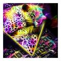 Hologram Leopard Keyboard