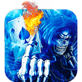 flame Death Skeleton Theme 3d